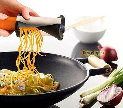 Kitchen Veggie Spiral Zucchini Noodle Vegetable Cutter Vegetti Julienne Slicer
