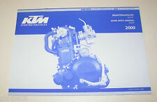 Teilekatalog Motor KTM 400 / 620 - Modelljahr 2000!