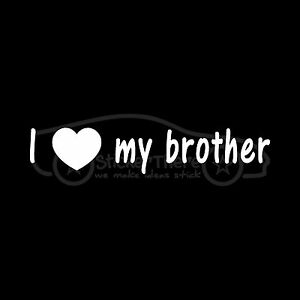 image is loading i love my brother sticker bro sis sister
