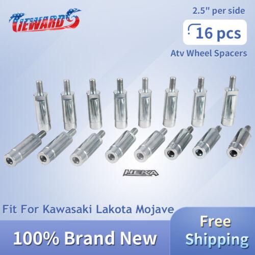 "2.5/"" per side ATV Wheel Spacers Fit For Kawasaki Lakota Mojave NEW 16 PCS 5/"""