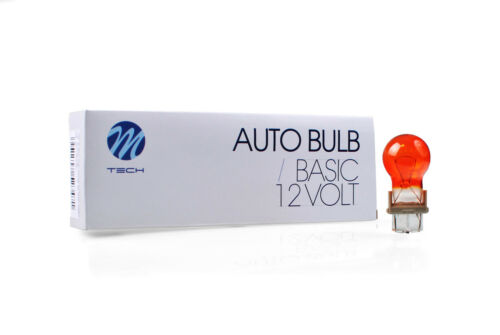 Z35 P27W 5x16d 12V//27W Amber 10PCS Set Wedge Ampoule M-tech 3156 W2