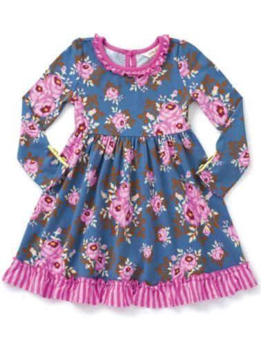 MATILDA JANE Make Believe Fairy Tales Dress Girls Size 10 12 NWT In Bag Roses