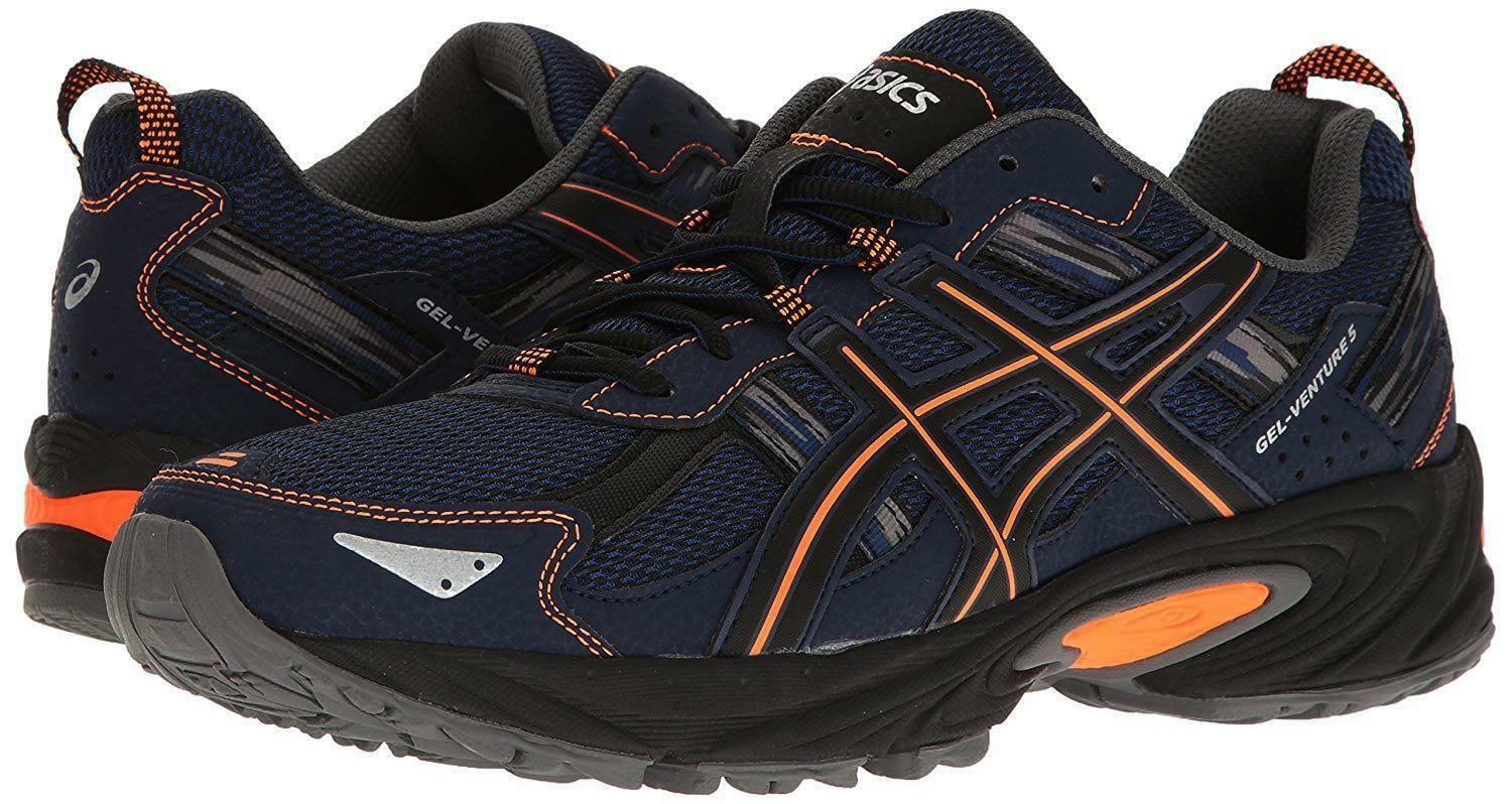 NEW Uomo ASICS GEL-VENTURE 5 TRAIL RUNNING SHOES - 15 / EUR 50.5 AUTHENTIC BLUE