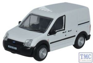 76FTC005 Oxford Diecast OO Ford Transit Connect White Ford Transit Connect