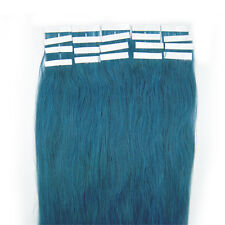7AAAAA 16inch fashion Remy Tape in Human Hair Extensions 40cm Seamless Skin Weft