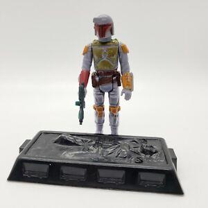 1979-Star-Wars-BOBA-FETT-Complete-Figure-Han-Solo-Carbonite-Slave-1-NO-REPRO