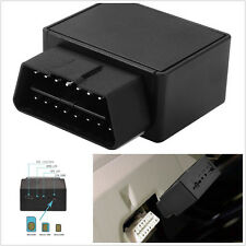 Car Black Mini 16-Pin OBDII OBD2 Realtime  GPS Realtime Tracking Device Tracker