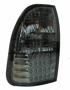 Smoked-tinted-LED-rear-lights-for-Mitsubishi-L200-tail-lamp-pickup-95-06-Warrior