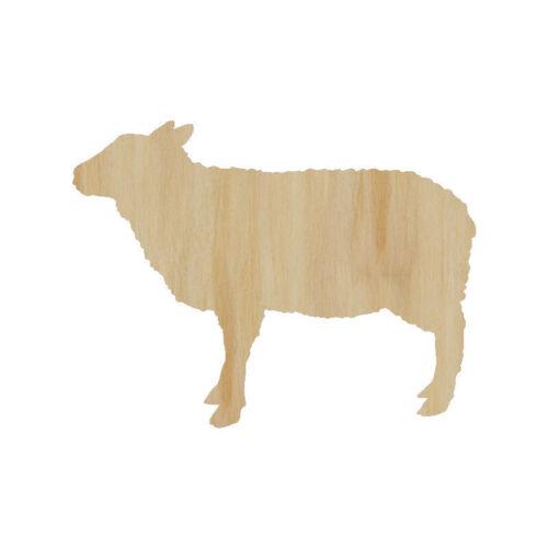 Sheep Laser Cut Out Wood Shape Craft Supply Wood Craft Sheep Cutout
