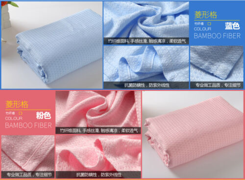 Thin blanket for summer cool throws for air conditioning room bamboo fiber queen