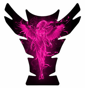 Can-Am-Spyder-Can-AM-Spyder-F3-3D-Gel-Motorcycle-Tank-Pad-Protector-Angel-Pink