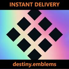 Destiny 2 First To The Forge Emblem INSTANT DELIVERY PS4 / Xbox One / PC