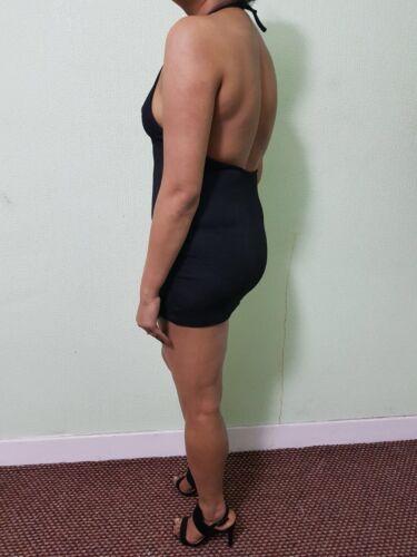 Black Mini Dress Ladies Fabulous Women/'s Party Girls Short Dresses UK 6-24  504