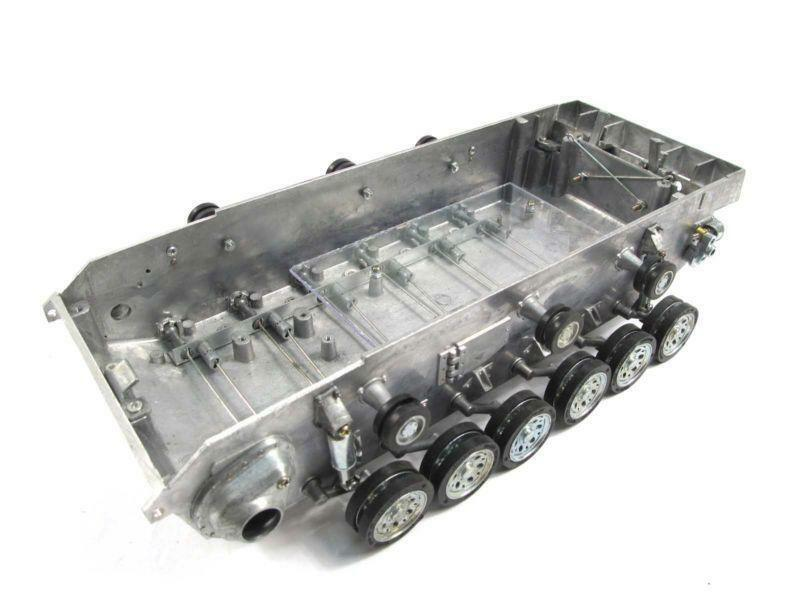 Mato 1 16 Stug III RC Tank Metal Chasis Road Wheels Torsion Bar Suspension MT111