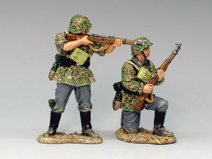 KING AND COUNTRY WS110 WS110 WSS110 - RIFLEMEN IN ACTION - WWII GERMAN FORCES 1 30