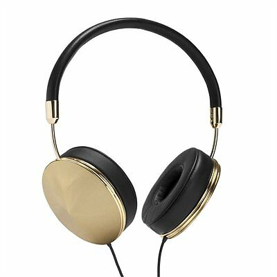 Frends With Benefits Taylor Black & Gold On-Ear Portable Headphones