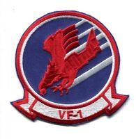 Top Gun Movie Maverick Goose Cougar Vf-1 Us Navy Fighter Squadron Jacket Patch