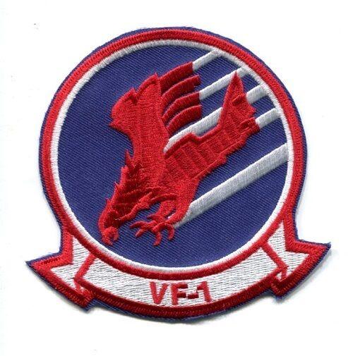 TOP GUN MOVIE MAVERICK GOOSE COUGAR VF-1 US NAVY FIGHTER SQUADRON PATCH