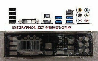 ASUS IO SHIELD FOR ASUS GRYPHON Z87 ORIGINAL PART
