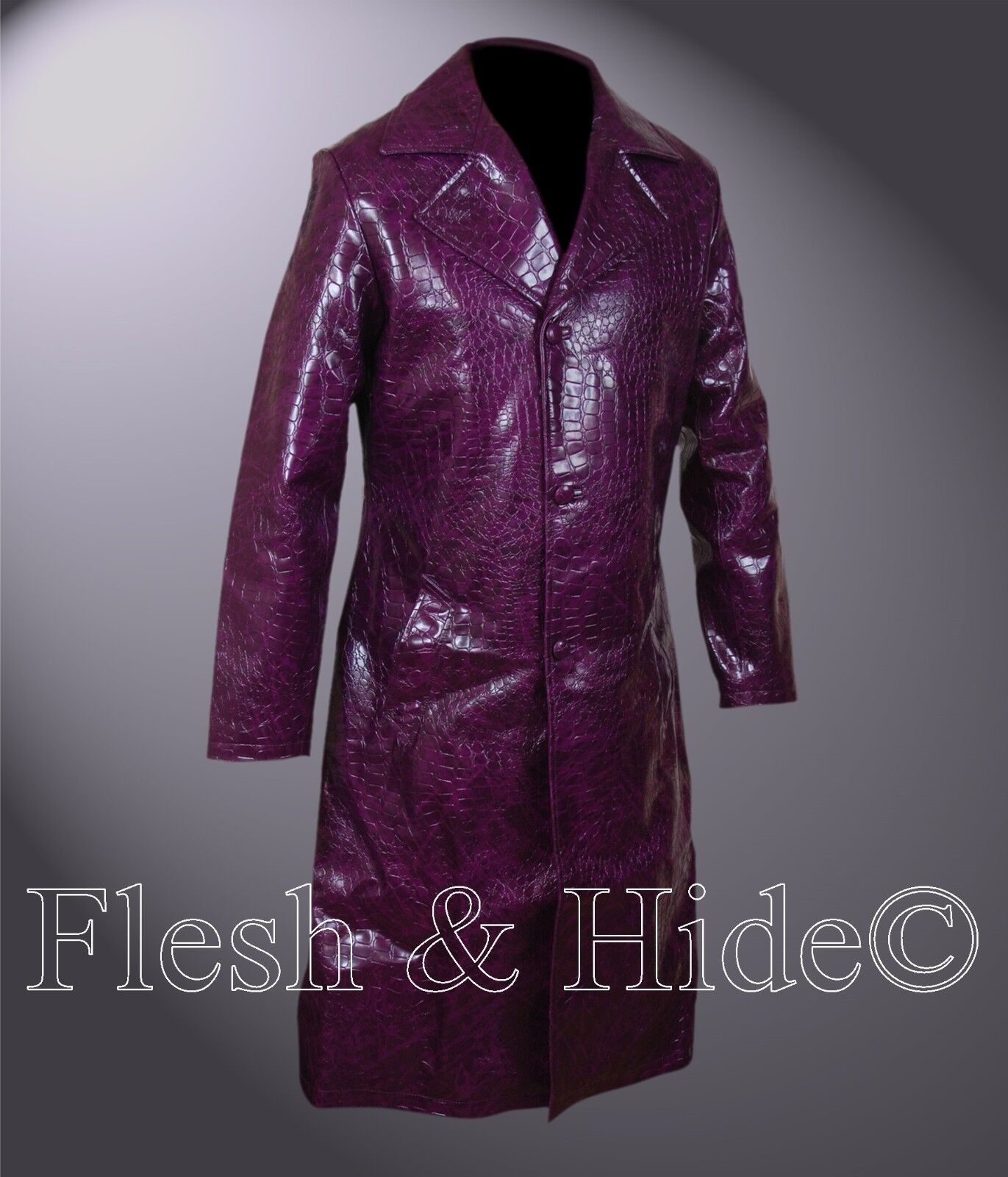 Suicide Squad JaROT Leto Joker lila Coat
