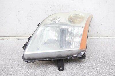 Fits 2007-2009 Nissan Sentra 2.0L Driver Left Headlight Lamp Assembly