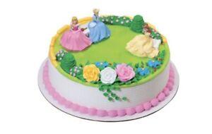 Disney Princess 6 Figure Set Cake Toppers Toy Decoration Belle Cinderella  14