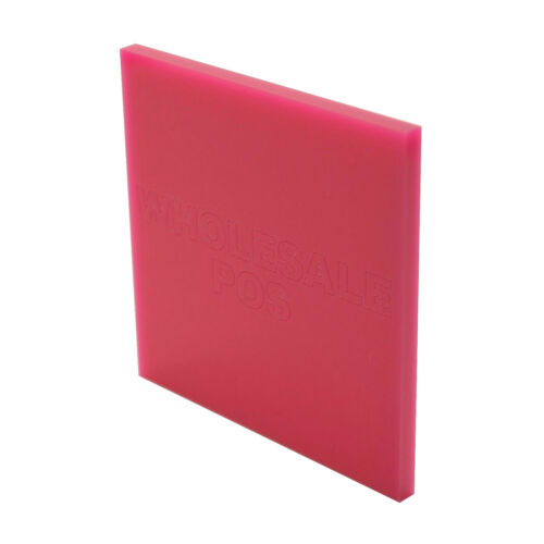 A5 A4 Custom 5mm Acrylic Perspex® Plastic Cut to Size Sheet 70 Colours