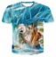 New-Women-Men-Dragon-Ball-Z-Vegeta-Goku-Super-Saiyan-Print-Casual-3D-T-Shirt-Tee thumbnail 20