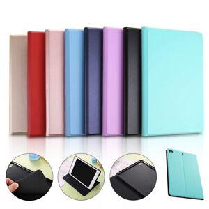 Leather-Smart-Folio-Case-for-iPad-Pro-9-7-Air-3rd-Mini-1-2-3-4-5-TPU-Back-Cover