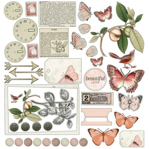"""49 And Market /'VINTAGE ARTISTRY COLORS NATURAL/' 12x12/"""" Mini Paper Pack"""
