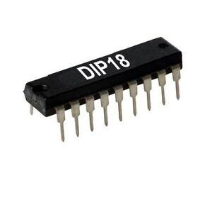 statique RAM 1024 Words X 4-bit 1st. dip18 rare Intel p2114al P 2114al-2