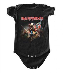 New-Iron-Maiden-Trooper-Baby-Romper-One-Piece-Shirt-6-24-Months-badhabitmerch