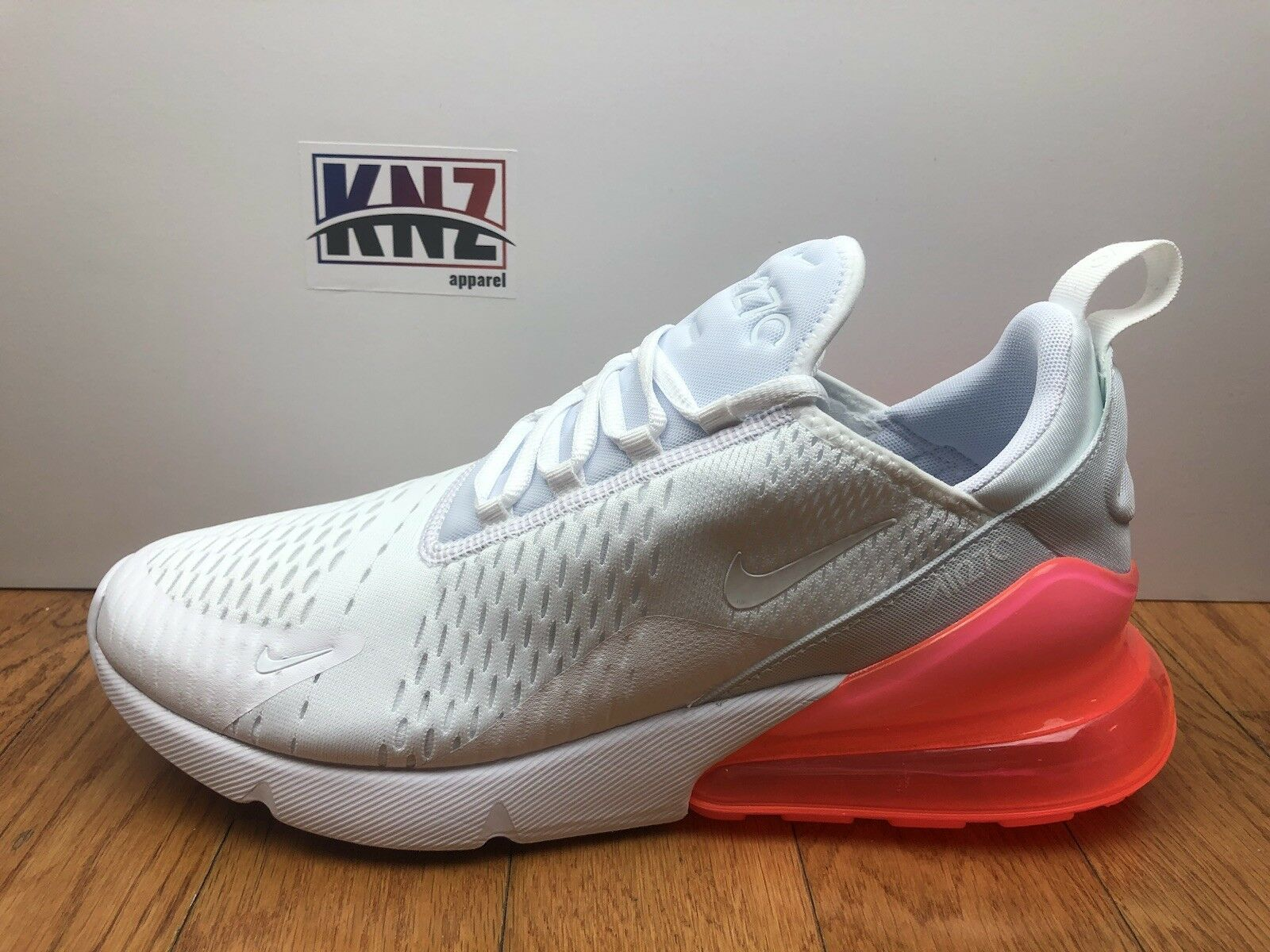 NEW MEN'S NIKE AIR MAX 270White Hot Punch size 11.5 (AH8050 103)