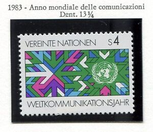 19327-UNITED-NATIONS-Vienna-1983-MNH-Telecommunications