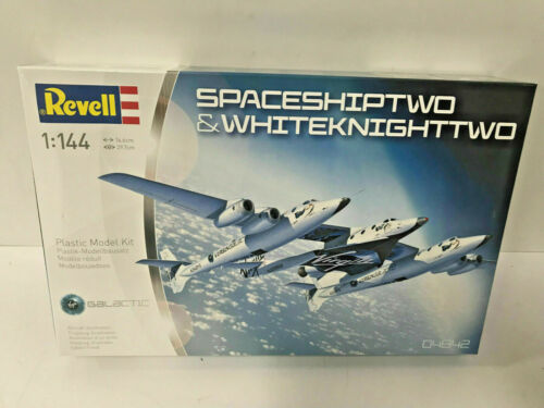 Revell Modellbausatz 04842 Space Ship Two /& White Knight Two Maßstab 1:144 OVP