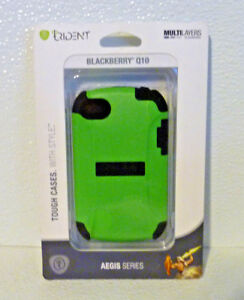Blackberry-Q10-Case-Only-By-Trident-Aegis-Green-NEW-in-Package