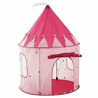 Girl`s Pink Princess Castle Play Tent By Pockos - Indoor / Outdoor on sale