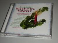 DAS FESTLICHE WEIHNACHTS KONZERT 2 CD S MIT FREDDY QUINN JOHNNY HILL ILSE WERNER