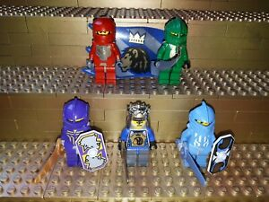 5-LEGO-Classic-CASTLE-KNIGHTS-KINGDOM-CHEVALIERS-personnages-minifig-Chateau-boucliers-r52