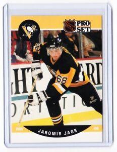 Details About 90 91 1990 91 Pro Set 632 Jaromir Jagr Rookie Card Pittsburg Penguins