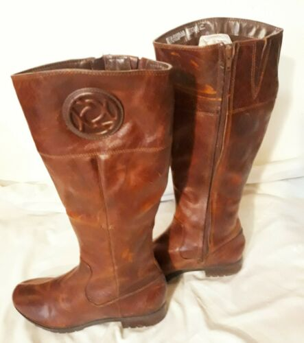 ROCKPORT WOMAN EQUESTRIAN RIDING  LINED  UPPER LEA