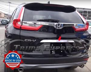 2017-2019-Honda-CRV-Tailgate-Chrome-Bezel-Trim-Stainless-Steel-Accent-Rear-Door