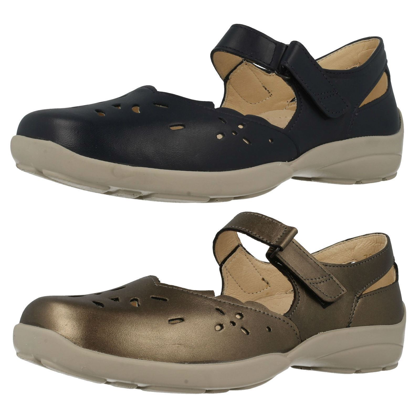 Señoras 79392 Erin Azul Marino Y Peltre ee-4e ee-4e ee-4e Wide Fit Zapatos por DB fácil B  minoristas en línea