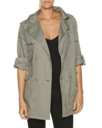 Rip Curl ALEXA JACKET Womens Military Jacket Coat New GJKOAI Vetiver