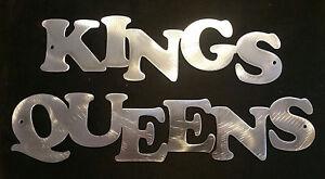 Details About Kings And Queens Sign Garage Restroom Bathroom Men Women Bar Restaurant