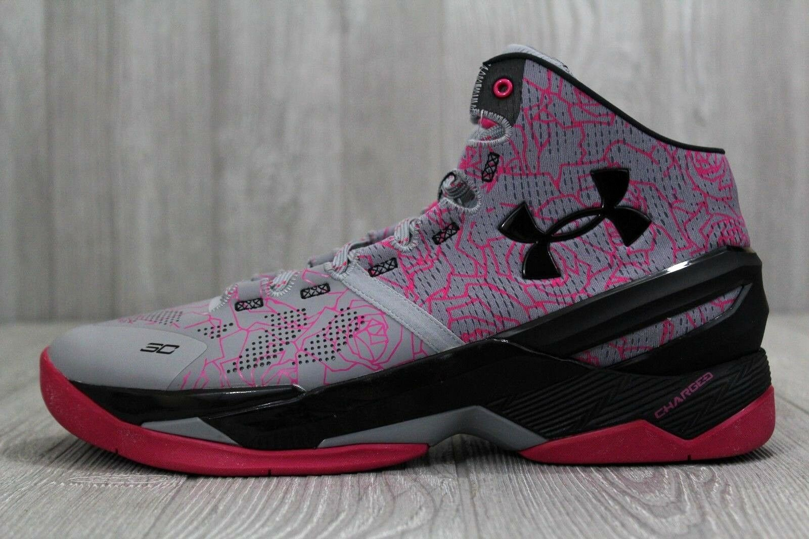 Under Armour UA Curry 2 1259007 401 Blue White Red Size 9.5 10 10.5 11 11.5 12