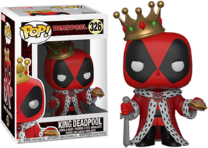 Exclusive-King-Deadpool-Funko-Pop-Vinyl-New-in-Box