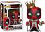 Exclusive-King-Deadpool-Funko-Pop-Vinyl-New-in-Box thumbnail 1