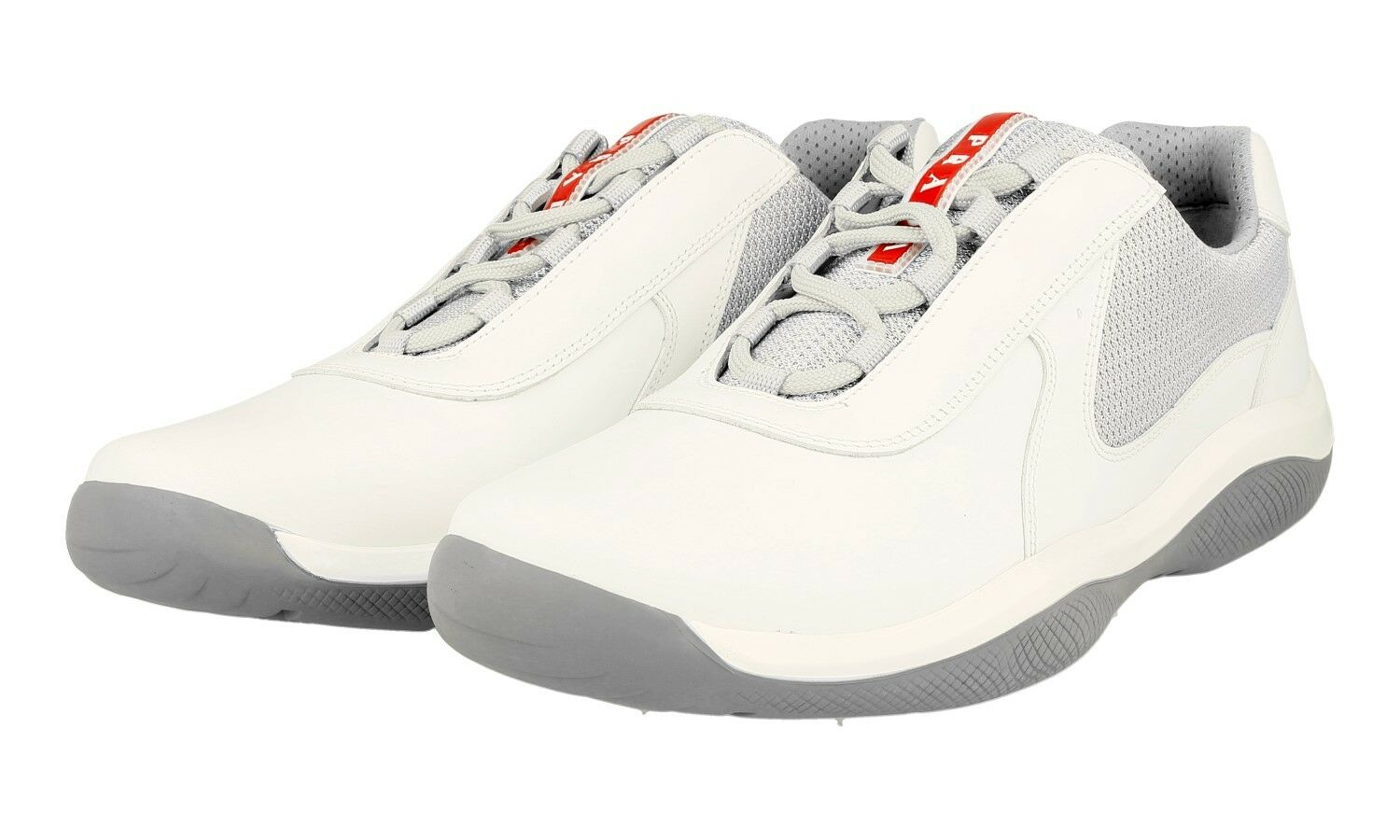 shoes PRADA AMERICAS CUP LUSSO 4E2905 BIANCO NUOVE 9 43 43,5