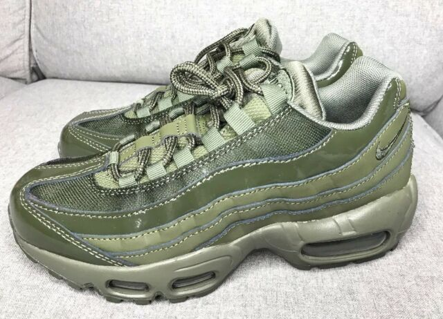 9be4afc07c Nike Air Max 95 Cargo Khaki Running Training Shoes 307960-303 Womens Size  5.5